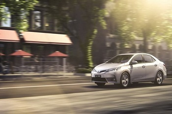 Cruising with the All New Toyota Corolla Image