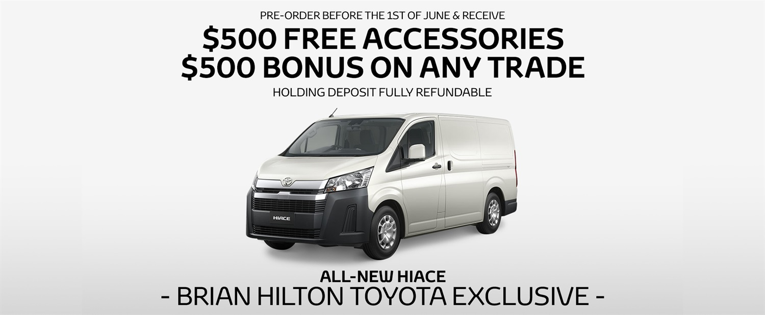 Brian Hilton Exclusive Launch Offer